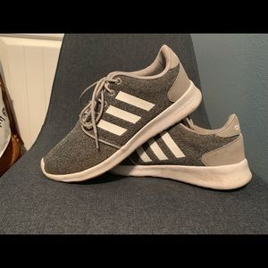 Gray Adidas Running Shoes